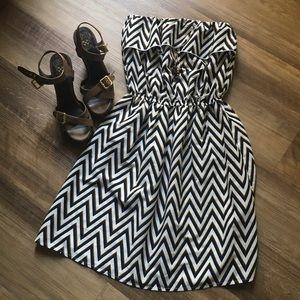 Speed Control Strapless Dress